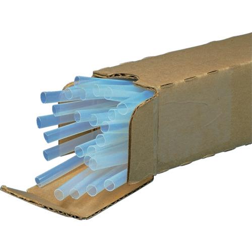 ■パンドウイット 熱収縮チューブ テフロン 収縮前内径4.9MM (25本入)  〔品番:HSTTT19-48-Q〕[TR-8281519]