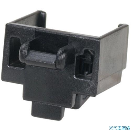 ■パンドウイット モジュラージャックガード 黒 (100個入)  〔品番:PSL-DCJB-BL-C〕[TR-8281651]