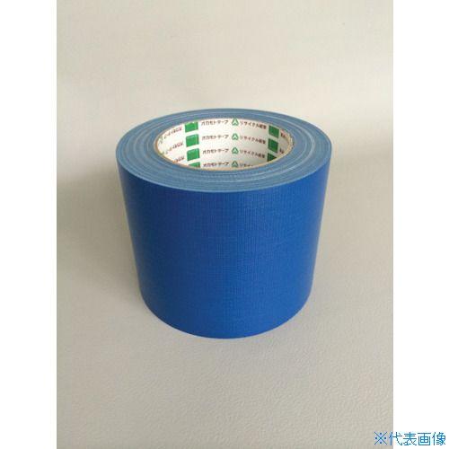■オカモト 布テープ NO111カラー 青 75ミリ 24巻入 〔品番:111B75〕[TR-8283011×24]
