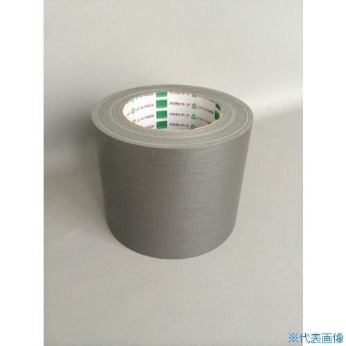 ■オカモト 布テープ NO111カラー 銀 100ミリ《18巻入》〔品番:111S100〕[TR-8283024×18]