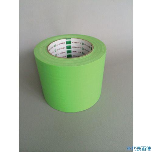 ■オカモト 布テープ NO111カラー 若草 75ミリ 24巻入 〔品番:111U75〕[TR-8283028×24]