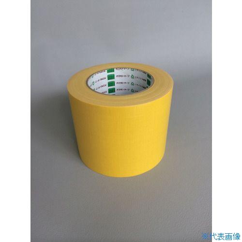 ■オカモト 布テープ NO111カラー 黄 75ミリ《24巻入》〔品番:111Y75〕[TR-8283038×24]