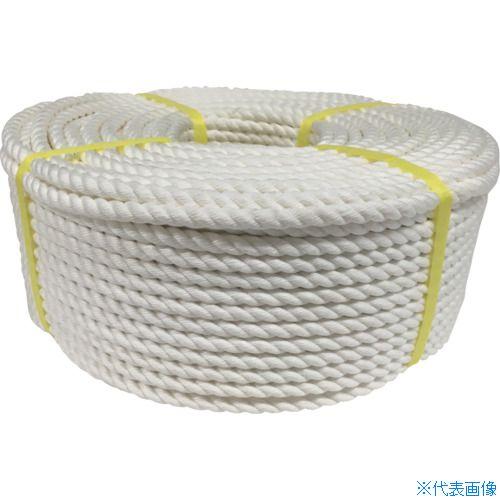 ■ユタカメイク ロープ クレモナロープ巻物 9Φ×100m〔品番:V9-100〕[TR-8286004]