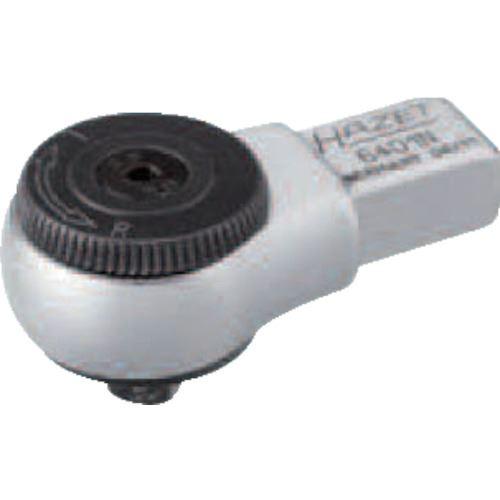 ■HAZET ヘッド交換式トルクレンチ用 ラチェットヘッド 差込角9×12MM  〔品番:6401N〕[TR-8287185]