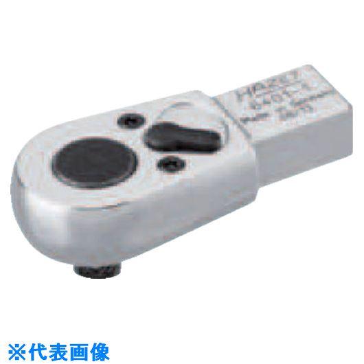 ■HAZET ヘッド交換式トルクレンチ用 ラチェットヘッド 差込角9×12MM  〔品番:6402-1〕[TR-8287187]