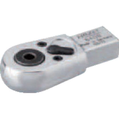 ■HAZET ヘッド交換式トルクレンチ用 ラチェットビットドライブヘッド  〔品番:6408〕取寄[TR-8287196]