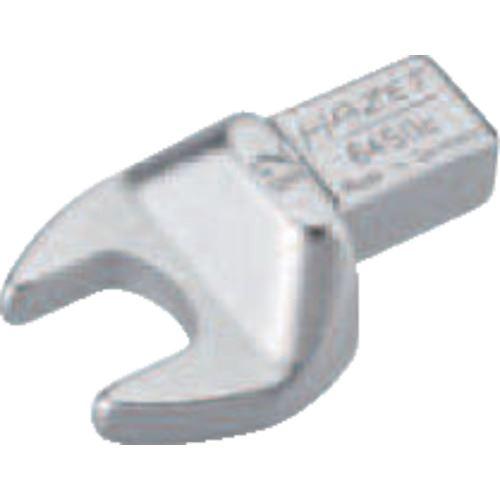 ■HAZET ヘッド交換式トルクレンチ用 オープンエンドレンチインサート 対辺寸法12MM  〔品番:6450C-12〕取寄[TR-8287213]