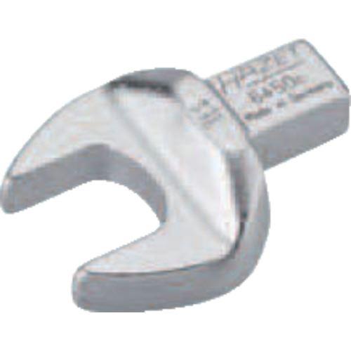 ■HAZET ヘッド交換式トルクレンチ用 オープンエンドレンチインサート 対辺寸法16MM  〔品番:6450C-16〕掲外取寄[TR-8287217]