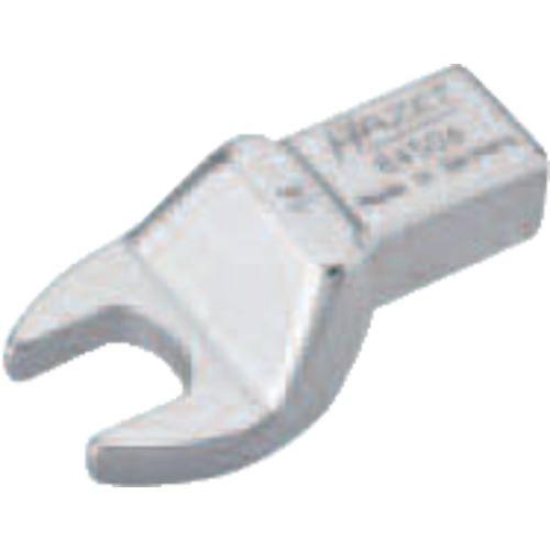 ■HAZET ヘッド交換式トルクレンチ用 オープンエンドレンチインサート 対辺寸法14MM  〔品番:6450D-14〕取寄[TR-8287225]