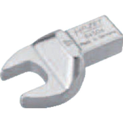 ■HAZET ヘッド交換式トルクレンチ用 オープンエンドレンチインサート 対辺寸法17MM  〔品番:6450D-17〕取寄[TR-8287228]