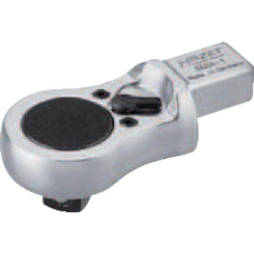 ■HAZET ヘッド交換式トルクレンチ用 ラチェットヘッド薄型  〔品番:6604-1〕[TR-8287247]