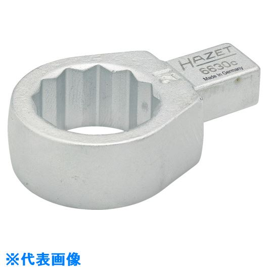 ■HAZET ヘッド交換式トルクレンチ用 ボックスエンドインサート 対辺寸法10MM  〔品番:6630C-10〕取寄[TR-8287266]