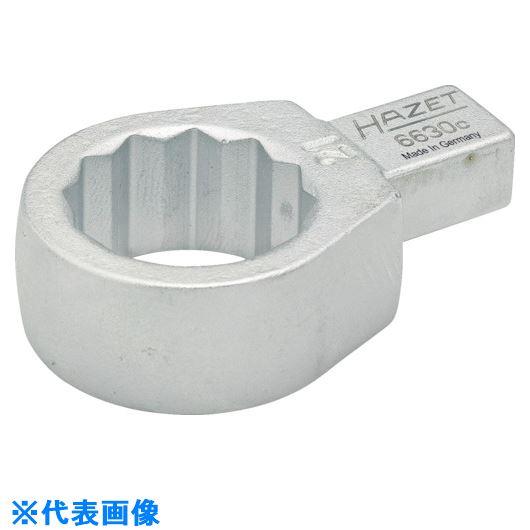 ■HAZET ヘッド交換式トルクレンチ用 ボックスエンドインサート 対辺寸法16MM  〔品番:6630C-16〕取寄[TR-8287272]
