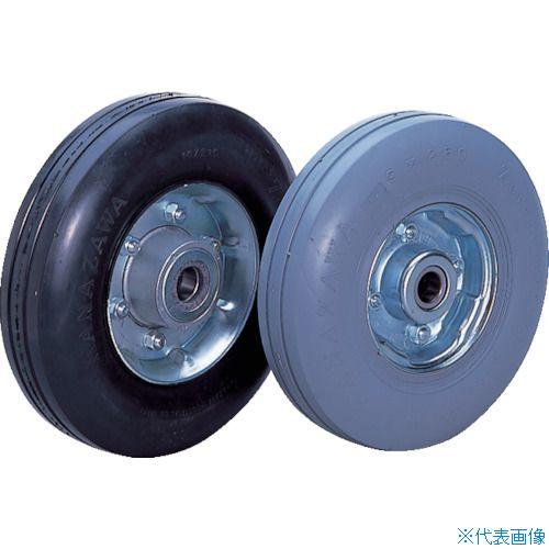 ■カナツー ゼロプレッシャータイヤ 車輪 ハブ付〔品番:ZP10X2.75MS-BK〕[TR-8287508]