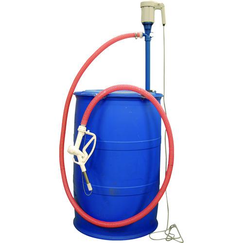 ■アクアシステム アドブルー・尿素水用電動ドラムポンプ〔品番:AD-1〕[TR-8289638]【大型・個人宅配送不可】