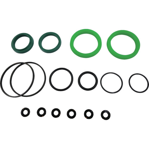 ■TAIYO 油圧シリンダ用メンテナンスパーツ 適合シリンダ内径:Φ125 (ウレタンゴム・標準形用)〔品番:NH8/PKS2-125B〕[TR-8290545]