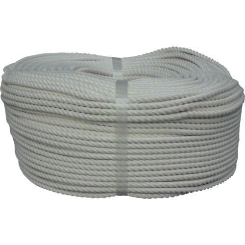 ■ユタカメイク ロープ 綿ロープ巻物 6Φ×200m〔品番:C6-200〕[TR-8291209]