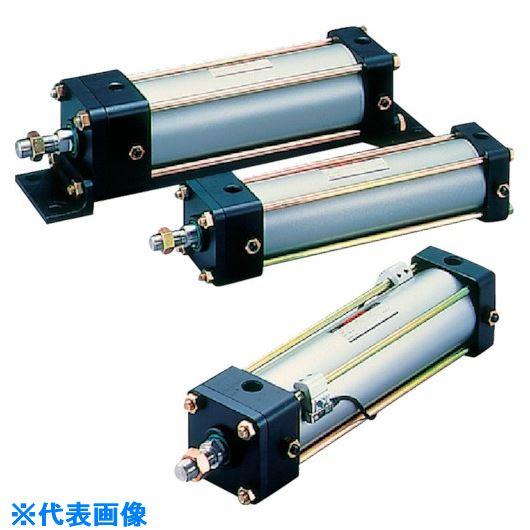■TAIYO 空気圧シリンダ〔品番:10A-2RTC80B500-AH2-TB〕[TR-8299902]【個人宅配送不可】