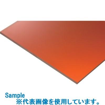 ■タキロン 塩ビ高機能製品 制電プレート オレンジ透明TND77285 5MM 3枚入 〔品番:TND77285〕[TR-8304111×3]【大型・重量物・個人宅配送不可】