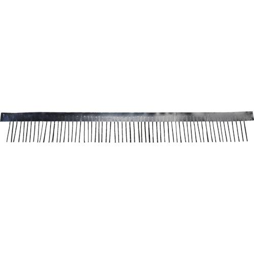 ■スタック アルミテープ型アクリルカーボン除電ブラシ〔品番:STAC3000〕[TR-8314520]