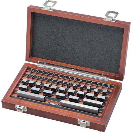 ■SK ブロックゲージセット 1級相当品 76個組  〔品番:GBS1-76〕[TR-8338099]