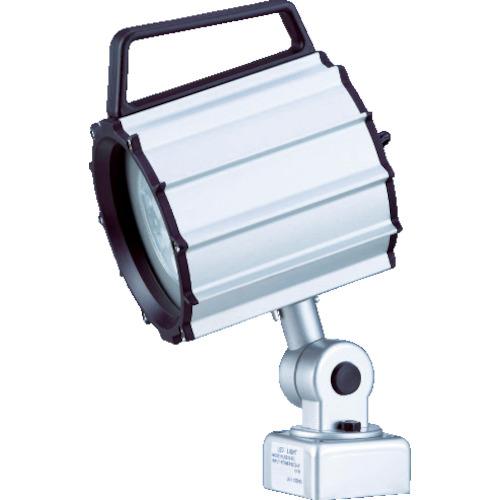 ■日機 防水型LEDスポットライト 12W AC100~120V  〔品番:NLSS20C-AC(2M+P)〕[TR-8338464]【大型・重量物・個人宅配送不可】