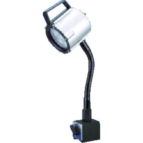■日機 マグネット付LEDスポットライト 12W AC100V  〔品番:NLSS15CBM-AC(4000K)〕[TR-8338479]【大型・重量物・個人宅配送不可】