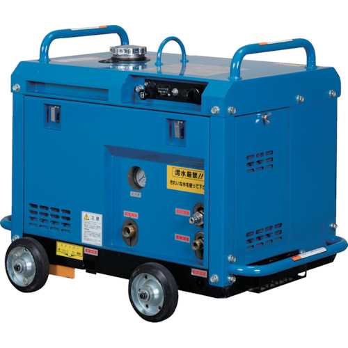 ?ツルミ 高圧洗浄機 エンジンシリーズ(防音タイプ)〔品番:HPJ-5ESM〕[TR-8353664]【大型・重量物・個人宅配送】