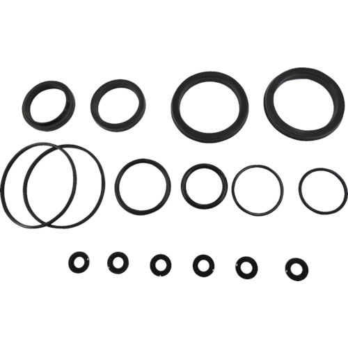 ■TAIYO 油圧シリンダ用メンテナンスパーツ 適合シリンダ内径:Φ63 (フッ素ゴム・標準形用)  〔品番:NH8/PKS3-063B〕[TR-8354842]
