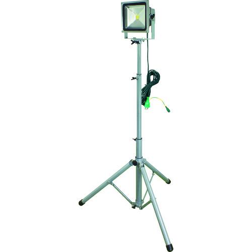 ■日動 LED作業灯 30W 一灯式三脚〔品番:LPR-S30L-3ME〕[TR-8357719]【大型・重量物・個人宅配送不可】