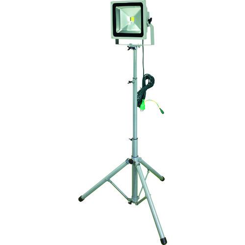 ■日動 LED作業灯 50W 一灯式三脚  〔品番:LPR-S50L-3ME〕[TR-8357723]