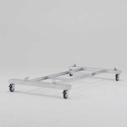 ■アルインコ 作業台CSD-F用4輪キャスター付きベース〔品番:CSDB12〕[TR-8357760]【大型・重量物・個人宅配送不可】
