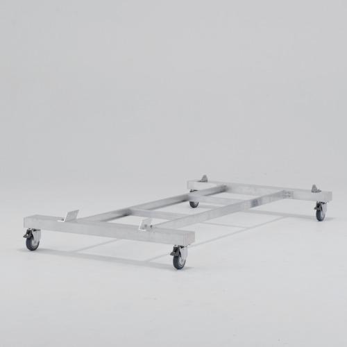 ■アルインコ 作業台CSD-F用4輪キャスター付きベース〔品番:CSDB15〕[TR-8357761]【大型・重量物・個人宅配送不可】