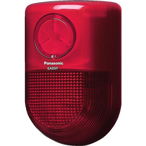 ■PANASONIC 警報ランプ付ブザー屋側用AC100V〔品番:EA5501〕[TR-8362024]