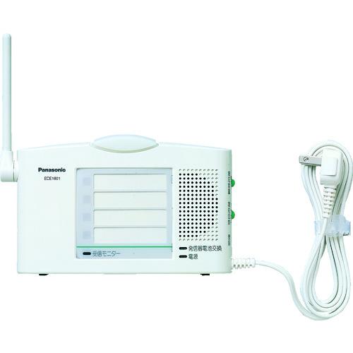 ■PANASONIC 小電力型ワイヤレス受信器〔品番:ECE1601P〕[TR-8362043]