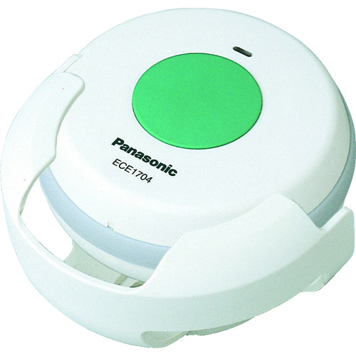 ■PANASONIC 小電力型ワイヤレス 浴室発信器〔品番:ECE1704P〕[TR-8362047]