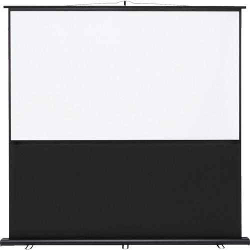 ■SANWA プロジェクタースクリーン 床置き式〔品番:PRS-Y80HD〕[TR-8362374]【個人宅配送不可】