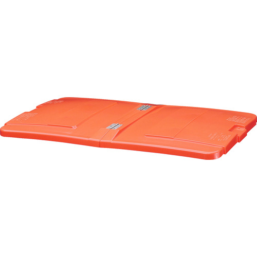 ■積水 リサイクルカートアウトバー0.6用フタ オレンジ〔品番:RCJF6O〕[TR-8364694]