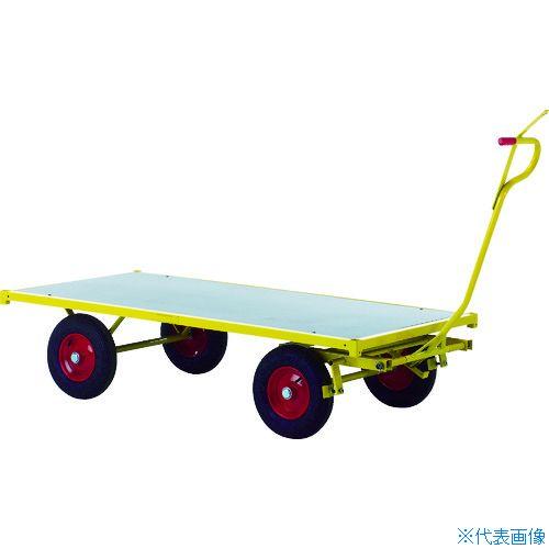 ■RAVENDO 大型重量運搬車 TW1500 穴ありハンドル  〔品番:144004〕[TR-8367727]