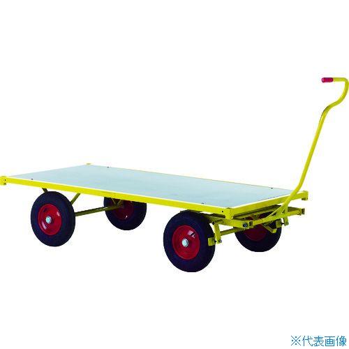 ?RAVENDO 大型重量運搬車 TW1500 穴なしハンドル 〔品番:144005〕[TR-8367728]