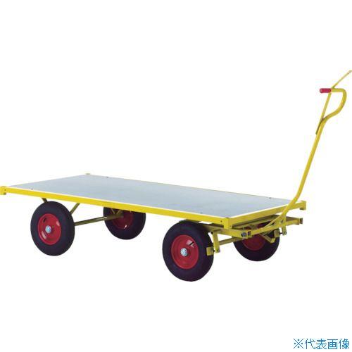 ?RAVENDO 大型重量運搬車 TW2000 穴ありハンドル 〔品番:144104〕[TR-8367729]
