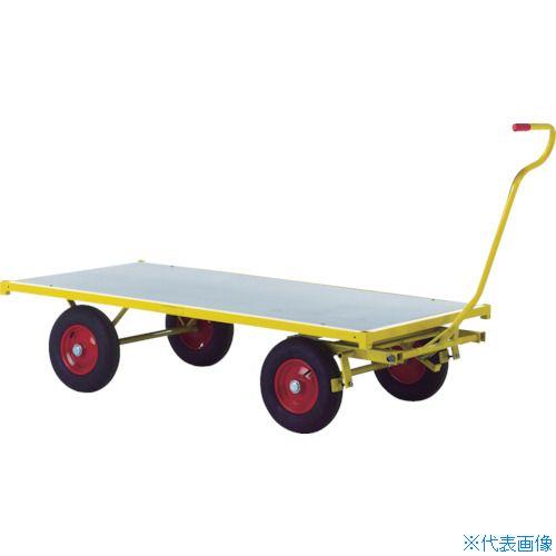 ?RAVENDO 大型重量運搬車 TW2000 穴なしハンドル 〔品番:144105〕[TR-8367730]