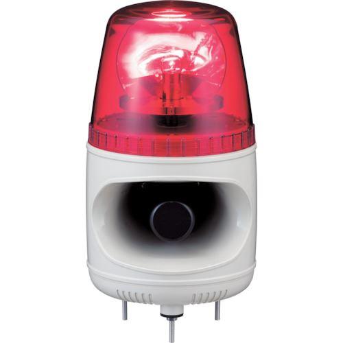 ■シュナイダー アローシリーズ 赤 回転灯+メロディーアラーム(16音) 100V  〔品番:AHMCK-100R-E〕[TR-8370108]