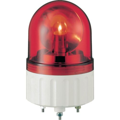 ■シュナイダー アローシリーズ 赤 Φ84 電球回転灯 100V  〔品番:AX-100R〕[TR-8370127]