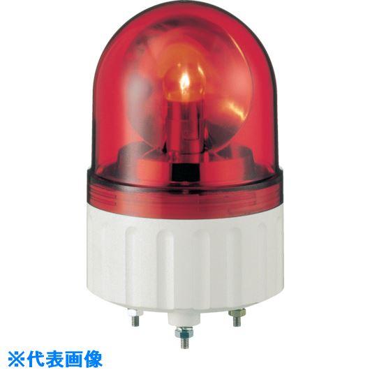 ■シュナイダー アローシリーズ 赤 Φ84 電球回転灯+ブザー 100V  〔品番:AXB-100R〕取寄[TR-8370131]