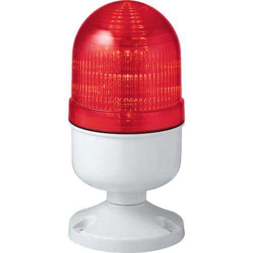 ■シュナイダー アローシリーズ 赤 Φ84 LED表示灯(円形取付台) 100V  〔品番:LAP-100R-A〕取寄[TR-8370168]