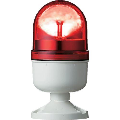 ■シュナイダー アローシリーズ 赤 Φ84 LED回転灯 100V  〔品番:LRP-100R-A〕取寄[TR-8370188]
