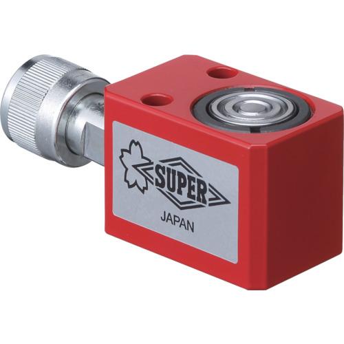 ■スーパー 油圧シリンダ(単動式) ストローク25MM 揚力50KN  〔品番:HC5S25N〕[TR-8370727]