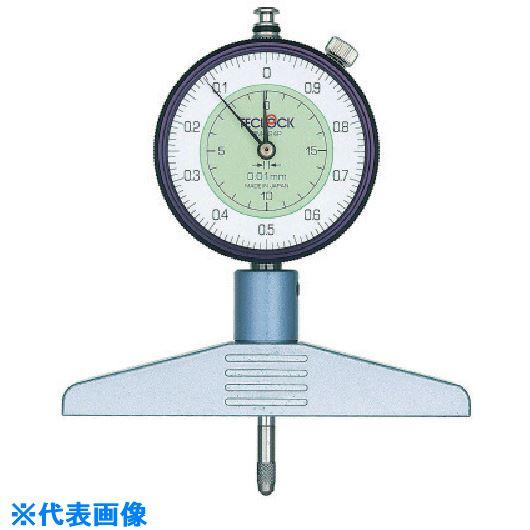 ■テクロック ダイヤルデプスゲージ 測定範囲230MM〔品番:DM-224P〕[TR-8380234]