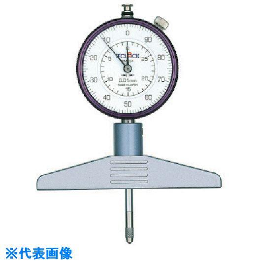 ■テクロック ダイヤルデプスゲージ 測定範囲240MM〔品番:DM-234〕[TR-8380237]